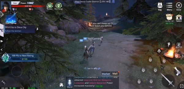 Abysswalker Screenshot 1