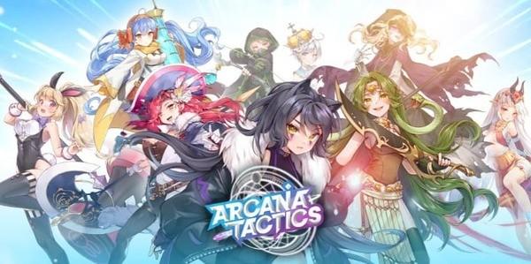 Arcana Tactics Logo