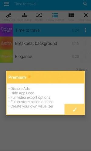 Avee Music Player Pro Screenshot 1