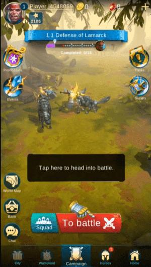 BLITZ Rise of Heroes Screenshot 1