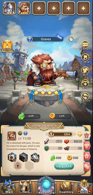 Brave Dungeon Immortal Legend Screenshot 1