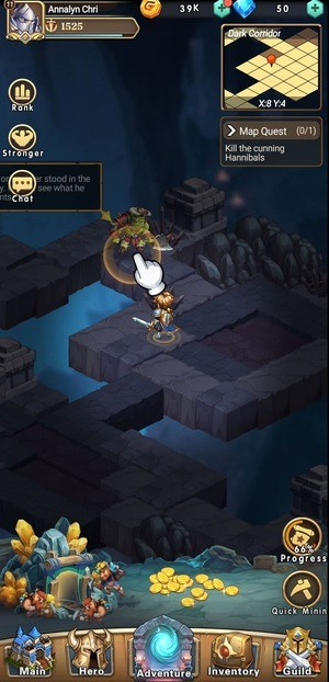 Brave Dungeon Immortal Legend Screenshot 2