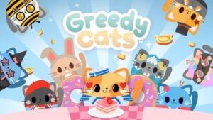 Greedy Cats Kitty Clicker Logo