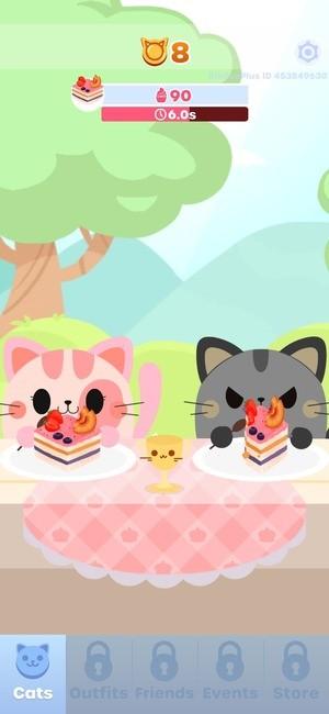 Greedy Cats Kitty Clicker Screenshot 1