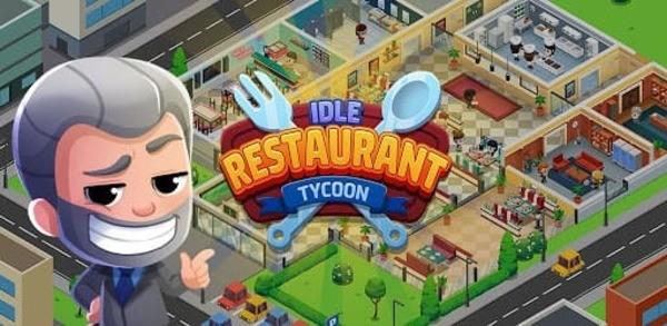 Idle Restaurant Tycoon Build A Restaurant Empire Logo