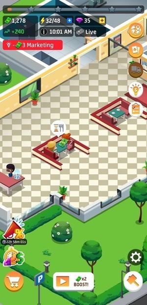 Idle Restaurant Tycoon Build A Restaurant Empire Screenshot 1