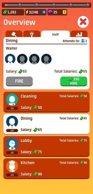 Idle Restaurant Tycoon Build A Restaurant Empire Screenshot 2