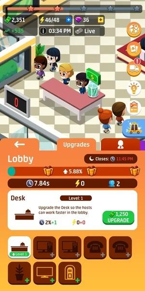 Idle Restaurant Tycoon Build A Restaurant Empire Screenshot 3