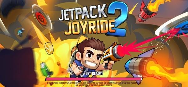 Jetpack Joyride 2 Mod Logo