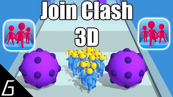 Join Clash 3D Logo