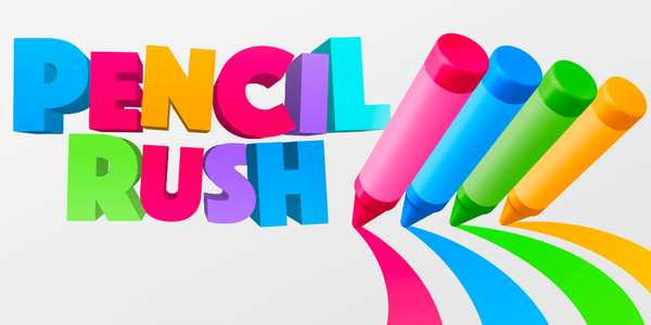 Pencil Rush 3D Logo