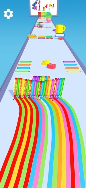 Pencil Rush 3D Screenshot 2