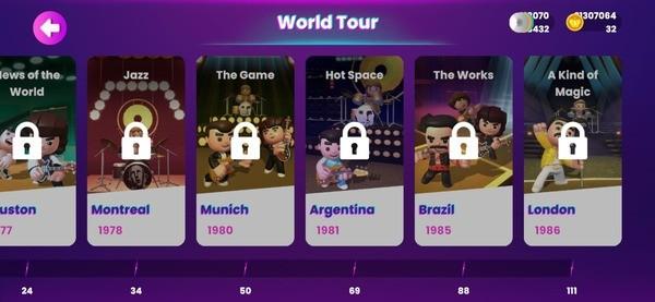 Queen Rock Tour - The Official Rhythm Mod