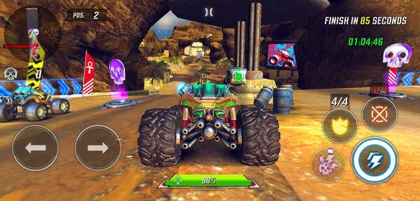RACE Rocket Arena Car Extreme Screenshot 1