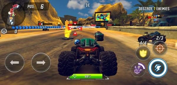 RACE Rocket Arena Car Extreme Screenshot 2