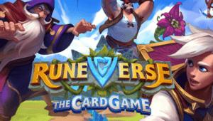Runeverse - The Card Game Logo