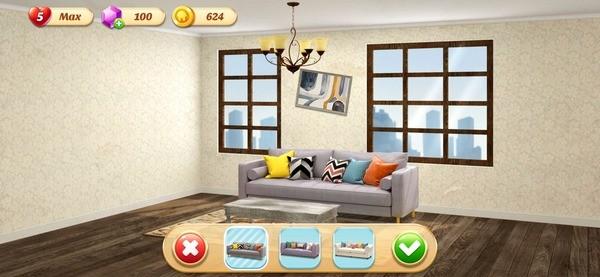 Space Decor Dream Home Design Screenshot 2