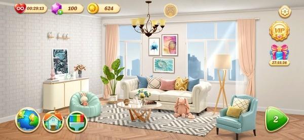 Space Decor Dream Home Design Screenshot 3