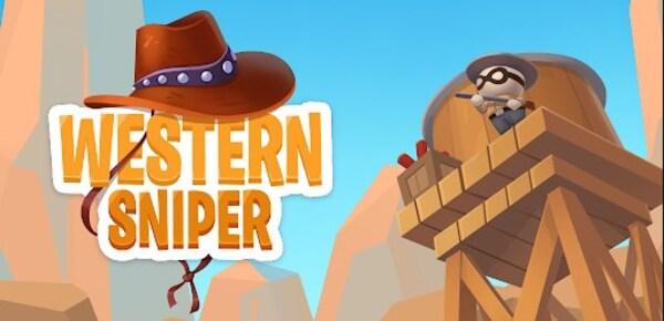 Western Sniper - Wild West FPS Shooter Logo