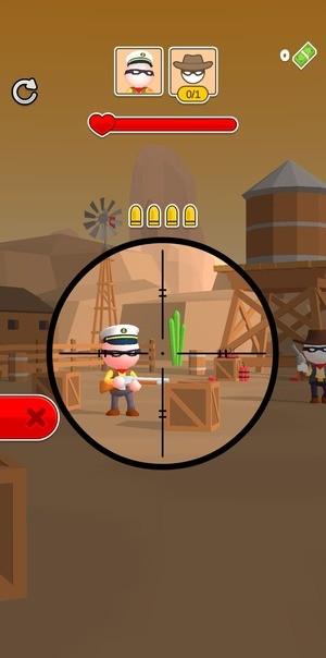 Western Sniper - Wild West FPS Shooter Screenshot 1