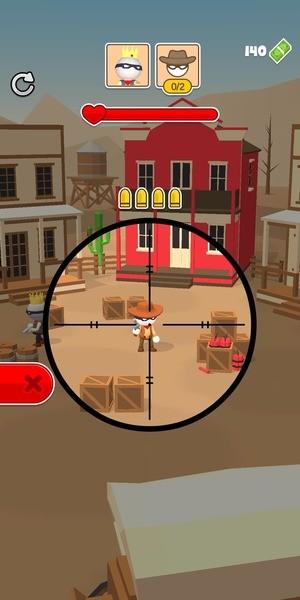 Western Sniper - Wild West FPS Shooter Screenshot 2