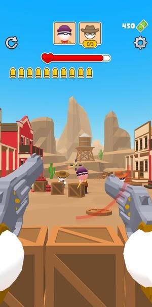 Western Sniper - Wild West FPS Shooter Screenshot 3