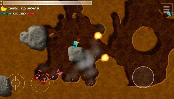 Annelids Online Battle Screenshot 2