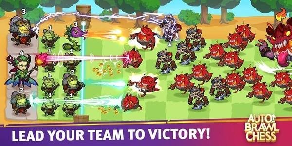 Auto Brawl Chess Battle Royale Screenshot 1