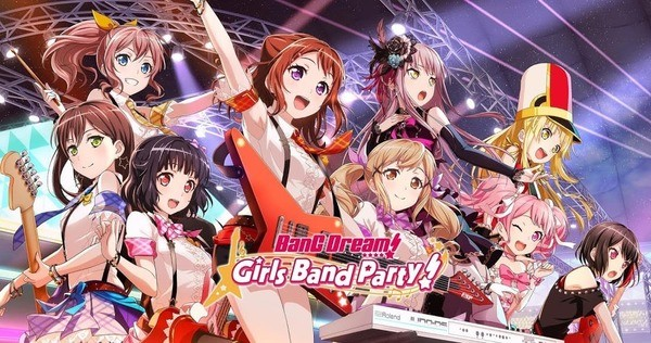 BanG Dream Girls Band Party! Logo