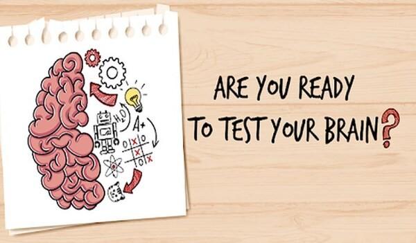Brain Test Tricky Puzzles Logo