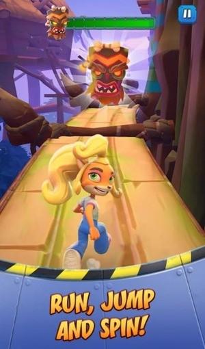 Crash Bandicoot On the Run Screenshot 2