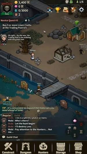 Evil Hunter Tycoon Screenshot 1