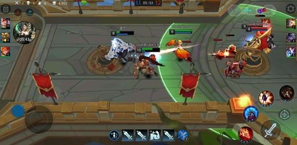 League of Masters Legend PvP MOBA Summon Champion Screenshot 1