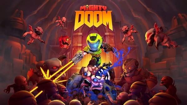 Mighty DOOM Logo