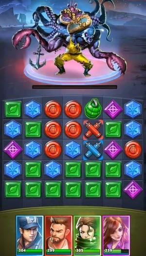 Puzzle Combat Screenshot 1