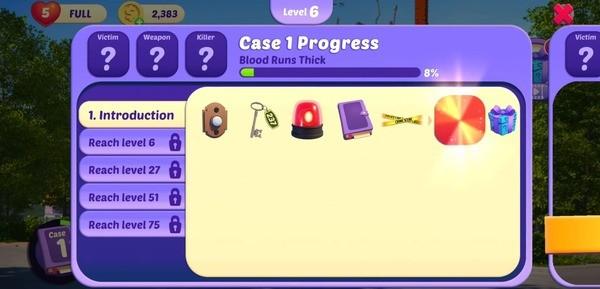 Small Town Murders Match 3 Screenshot 3