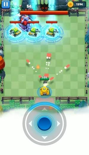 Tank Hero - Awesome tank war games Screenshot 3