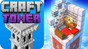 Tower Craft 3D Logo