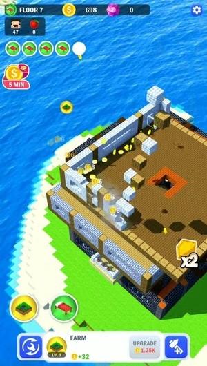 Tower Craft 3D Screenshot 1