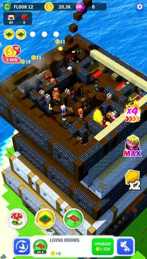 Tower Craft 3D Screenshot 2