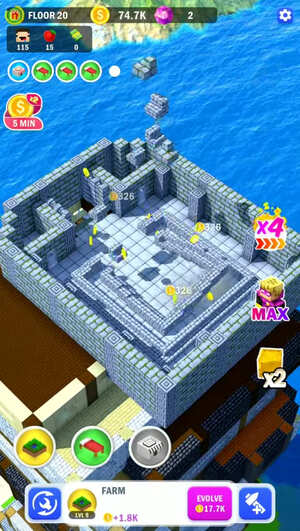 Tower Craft 3D Screenshot 3