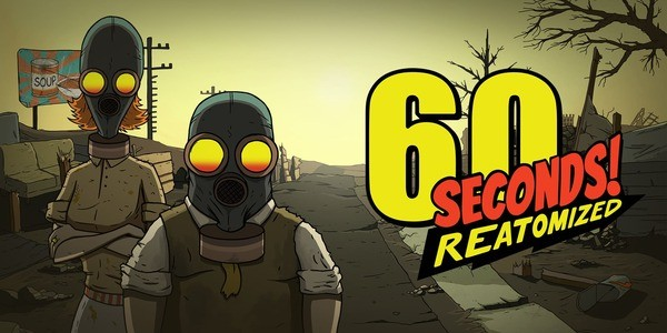 60 Seconds! Reatomized Logo