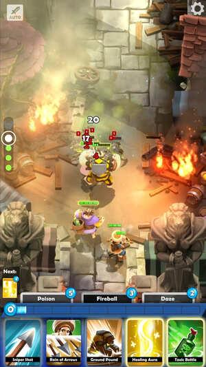 Darkfire Heroes Screenshot 1