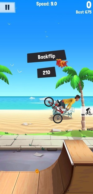 Flip Rider BMX Tricks Screenshot 1