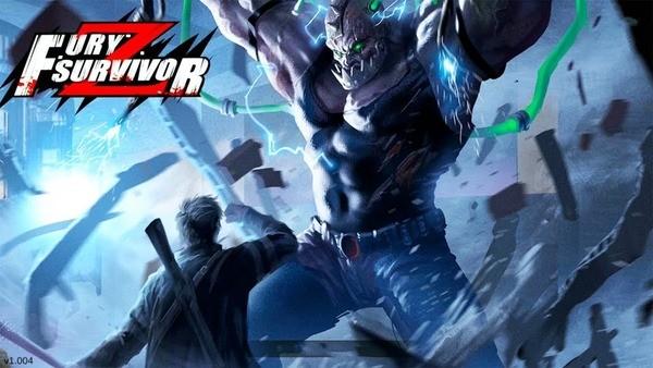 Fury Survivor Pixel Z Logo