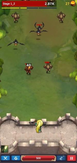 Knight War Idle Defense 2 Screenshot 1