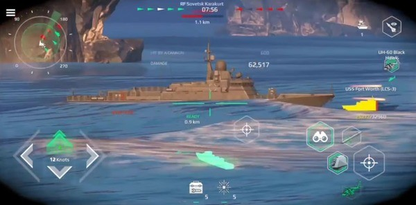 Modern Warships Sea Battle Online Screenshot 3