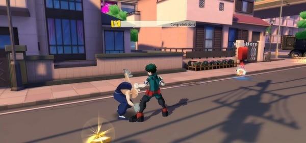 My Hero Academia - The Strongest Hero Screenshot 2
