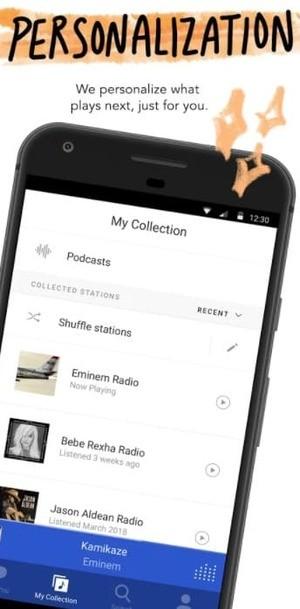 Pandora Screenshot 3
