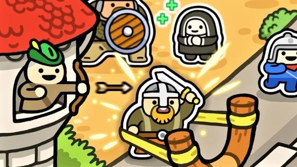 Smash Kingdom - Slingshot Action Defense Logo